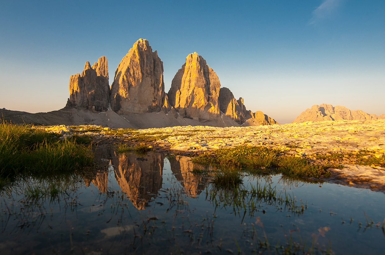 Mountain Magic – 3 Zinnen in the Dolomites