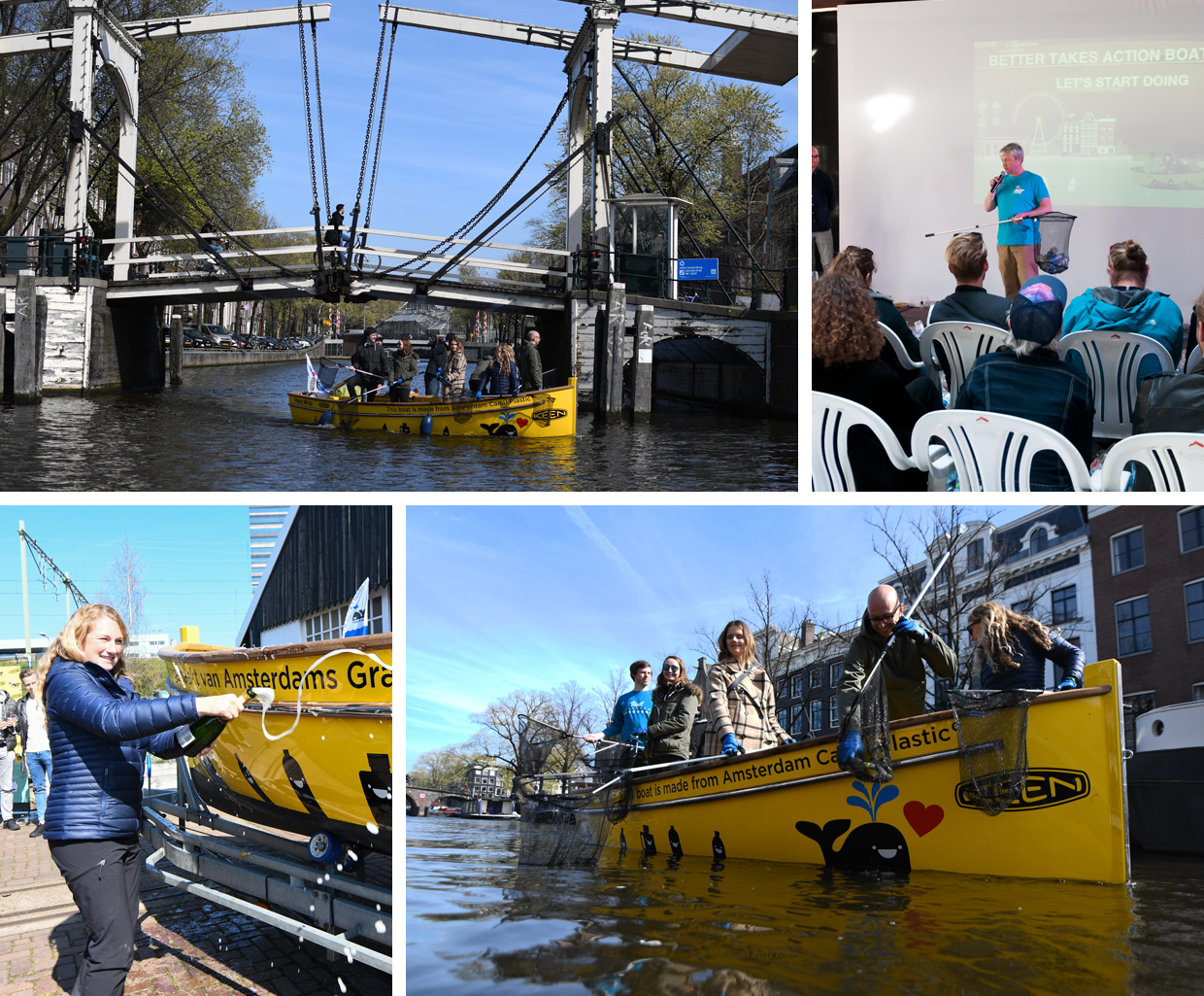 KEEN launches Better Takes Action boat tour