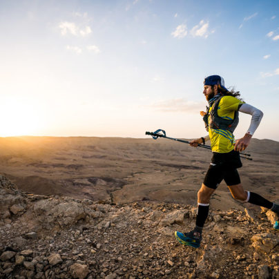 New Israel National Trail FKT