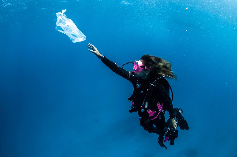 Sarah Gauthier –Taking the Plunge Against Plastic