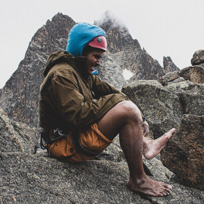 Cold Feet: Barefoot Free Solo With Peter Naituli